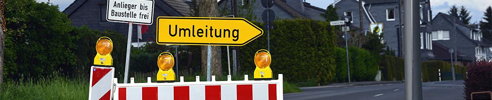 Verkehrsbeeinträchtigung