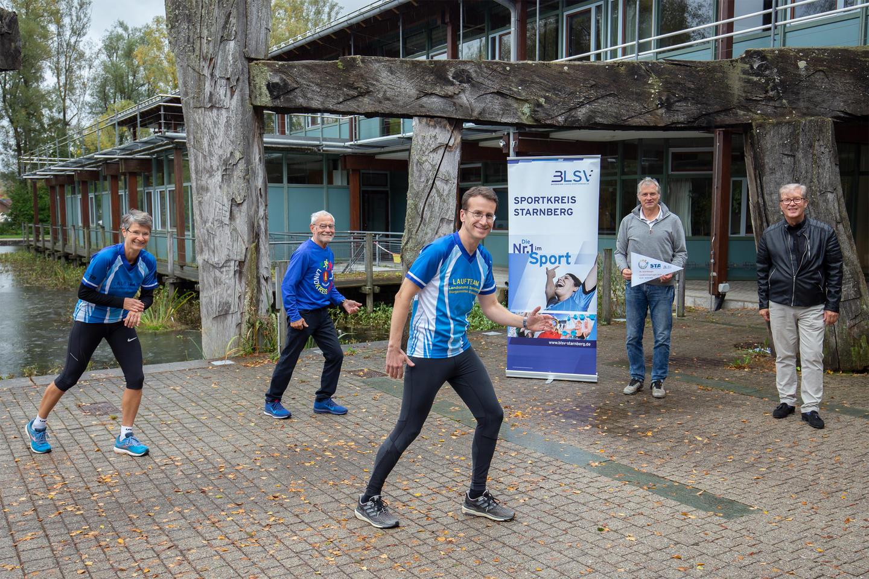 Start des 36. Starnberger Landkreislauf Light 2020