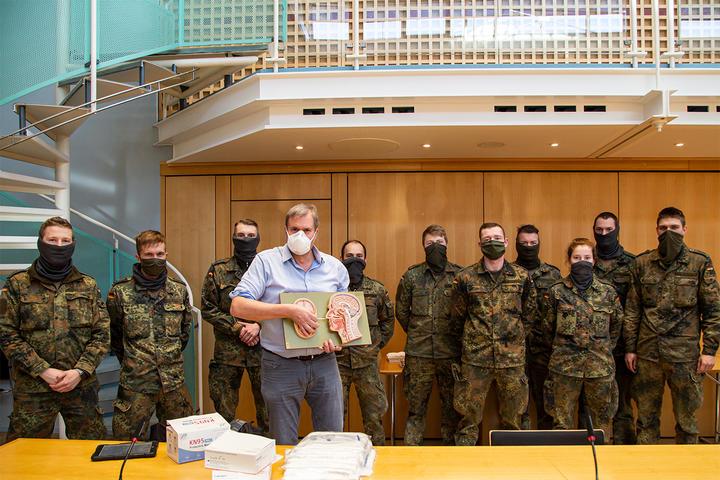Hilfeleistung durch Bundeswehr