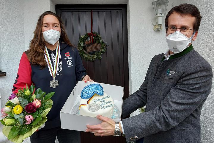 Landrat überbringt Glückwünsche des Landkreises