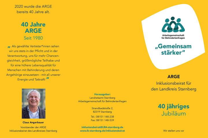 40 Jahre Arbeitsgemeinschaft für Behindertenfragen