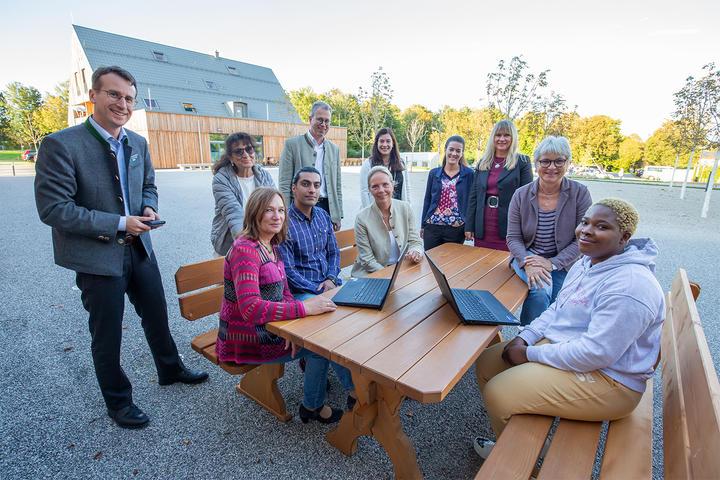 Pilotprojekt »digitales Lernen mit Lernpaten«