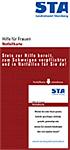 Hilfsangebote für Frauen in Notfällen: Notfallnummern und Online - Frauenhandbuch