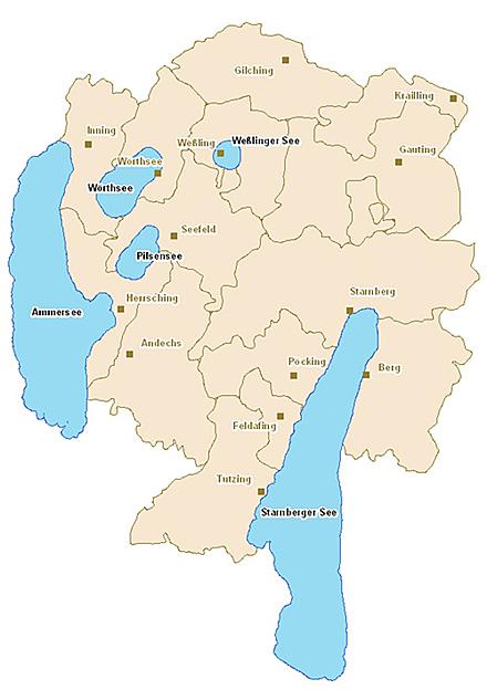 Badegewässerqualität der Seen im Landkreis Starnberg