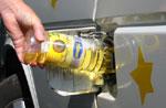 Einsatz von Pflanzenöl in Pentenried