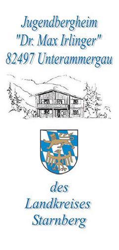 Info-Flyer: Jugendbergheim Dr. Max Irlinger in Unterammergau