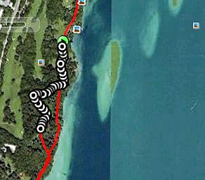 Externer Link: Landkreislauf 2011 - Beispiel für eine Google-Earth Animation