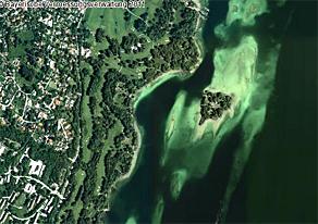 Externer Link: Landkreislauf 2011: Beispiel-Luftbild aus dem BayernViewer