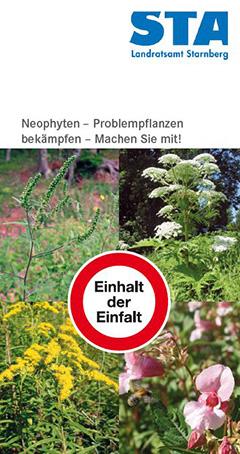 Neophyten - Problempflanzen bekämpfen - Machen Sie mit!
