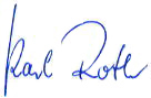 Unterschrift Landrat Roth
