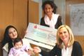 Kreissparkasse spendet an den Babybesuchsdienst