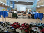 04 - Blick in den gr. Sitzungssaal während der Präsentation von Susanne Münster, Verkehrsmanagerin