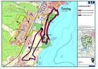 Streckenkarte des Landkreislaufs 2013