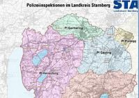 GeoLIS Karte Polizeiinspektionen