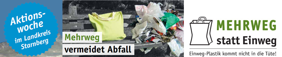 Plastik vermeiden Mehrweg vermeidet Abfall