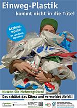 Einweg-Plastik kommt nicht in die Tüte! (Plakat)