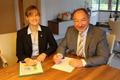 Landkreis unterzeichnet Teilnahme an WWF