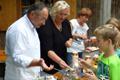 Kinder- und Jugendfreizeit in Unterammergau: Einstieg in die energetische Sanierung mit Eis und Schokolinsen