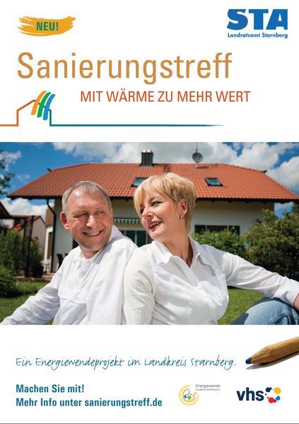 Sanierungstreff Imageplakat