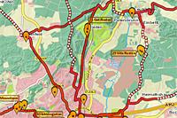 Externer Link: Geo-Anwendung Radwege