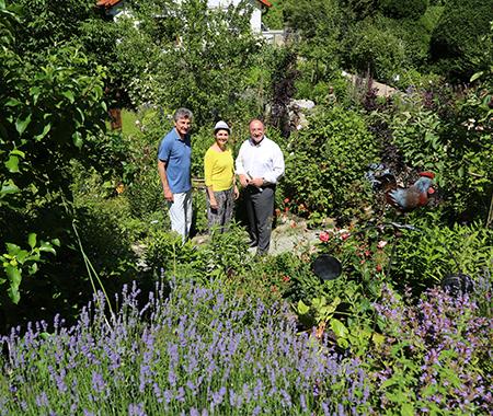Tag der offenen Gartent�r zeigt drei G�rten in Herrsching