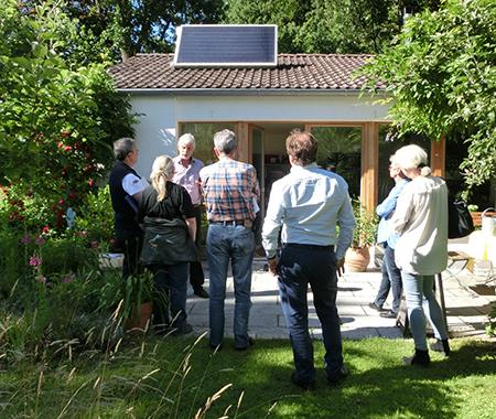 Sanierung und Sonnenenergie zum Anfassen