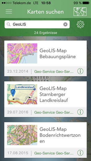 ArcGIS-Karte-auswählen