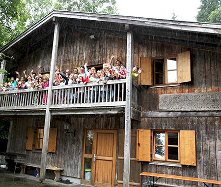 Besuch auf der Max-Irlinger-Hütte