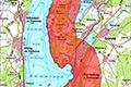 Karte Schutzzone um den Ammersee