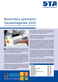 Sparsame Haushaltsgeräte 2016/17 Titelseite