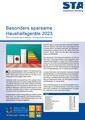 Sparsame Haushaltsgeräte 2021 Titelseite