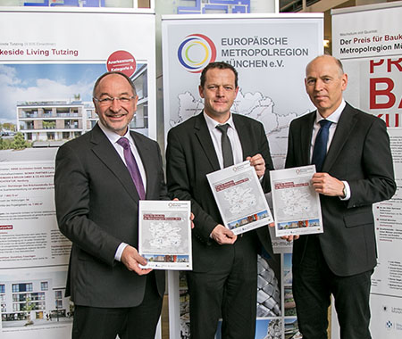 """Wanderausstellung """"Preis für Baukultur in der Metropolregion München: Wachstum mit Qualität"""""""