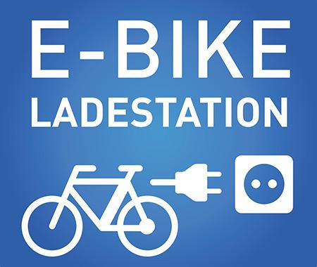 E-Bike Ladestation (Elektrofahrrad Ladesäule)
