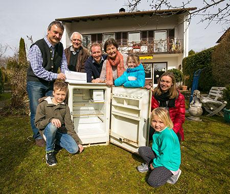 Kühlschrank-Tauschaktion