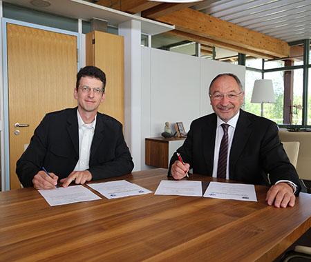 Unterzeichnung des Grundlagen- und Delegationsvertrages