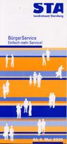 Bürgerservice Flyer