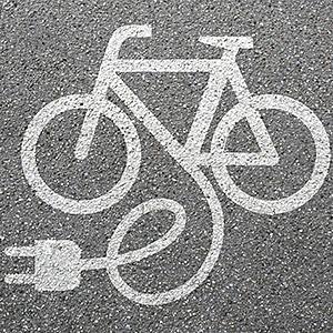 Lademöglichkeiten für E-Bikes