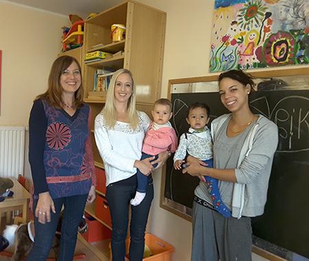 Treffen für alleinerziehende Mütter