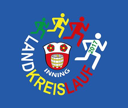 Logo Landkreislauf Inning 2017