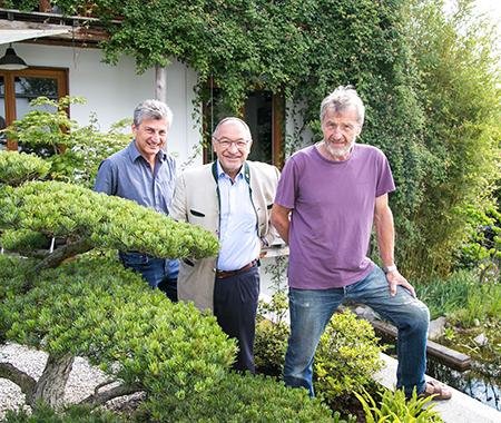 Gartenbesichtigung in Tutzing