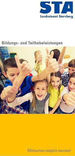 Bildungs- und Teilhabeleistungen (Flyer)