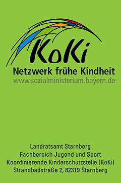 Flyer Koordinierungsstelle Frühe Kindheit (KoKi)