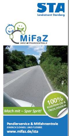 MiFaZ - IHRE MITFAHRZENTRALE