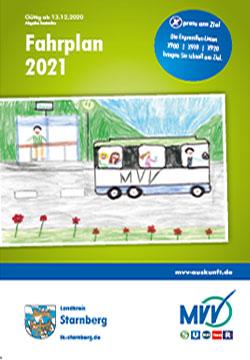 MVV-Fahrplan 2021 Landkreis Starnberg
