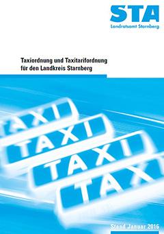 Taxitarifordnung für den Landkreis Starnberg