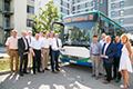 Start der neuen Expressbuslinie X910