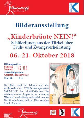 Plakat Bilderausstellung