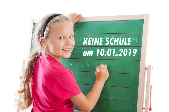 Schule / Schulausfall 10.01.2019