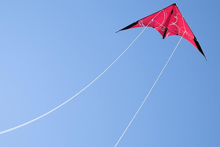 Flugdrache Ziel nach oben