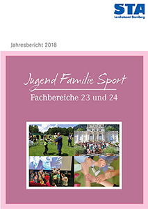 Jahresbericht 2018 Jugend Familie Sport - Fachbereiche 23 und 24